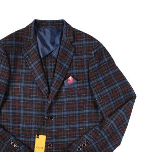 GIH(ジーアイエイチ) ジャケット TP904147LE ネイビー x レッド 54 18458 【W18459】|utsubostock