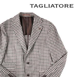 【52】 TAGLIATORE タリアトーレ ジャケット 1SVS22D メンズ 秋冬 チェック ホワイト 白 並行輸入品 アウター トップス 大きいサイズ|utsubostock