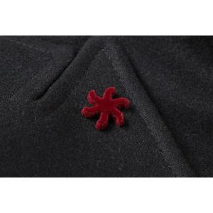 【48】 GIACCHE ジャッケ コート メンズ 秋冬 ブラック 黒 並行輸入品 アウター トップス|utsubostock|06