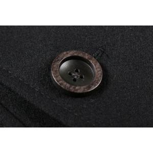 【48】 GIACCHE ジャッケ コート メンズ 秋冬 ブラック 黒 並行輸入品 アウター トップス|utsubostock|07