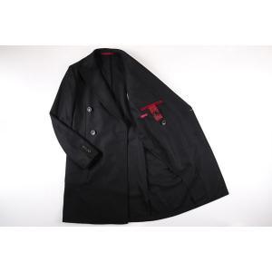 【48】 GIACCHE ジャッケ コート メンズ 秋冬 ブラック 黒 並行輸入品 アウター トップス|utsubostock|09