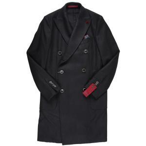 【50】 GIACCHE ジャッケ コート メンズ 秋冬 ブラック 黒 並行輸入品 アウター トップス|utsubostock|02