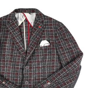 【50】 FAG ファグ ジャケット メンズ 秋冬 チェック ブラック 黒 並行輸入品 アウター トップス utsubostock