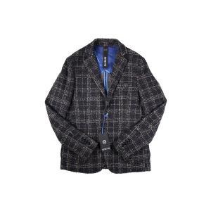【48】 DISTRETTO 12 ディストレット12 ジャケット メンズ 秋冬 チェック ネイビー 紺 並行輸入品 アウター トップス|utsubostock|02