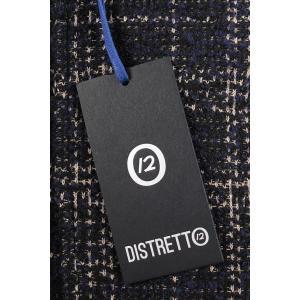 【48】 DISTRETTO 12 ディストレット12 ジャケット メンズ 秋冬 チェック ネイビー 紺 並行輸入品 アウター トップス|utsubostock|11