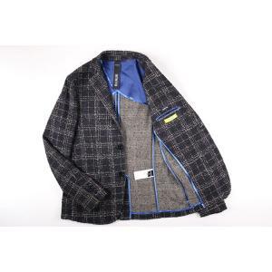 【48】 DISTRETTO 12 ディストレット12 ジャケット メンズ 秋冬 チェック ネイビー 紺 並行輸入品 アウター トップス|utsubostock|08