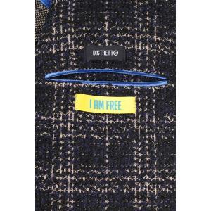 【48】 DISTRETTO 12 ディストレット12 ジャケット メンズ 秋冬 チェック ネイビー 紺 並行輸入品 アウター トップス|utsubostock|09