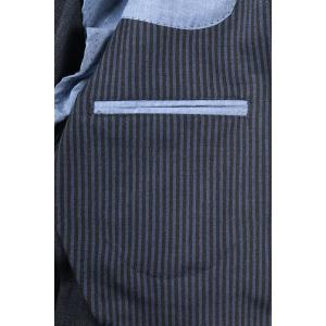 【52】 JOHN SHEEP ジョン・シープ ジャケット メンズ 秋冬 ストライプ ブルー 青 並行輸入品 アウター トップス 大きいサイズ utsubostock 12
