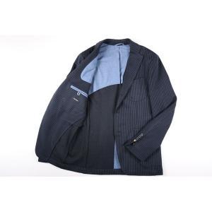 【52】 JOHN SHEEP ジョン・シープ ジャケット メンズ 秋冬 ストライプ ブルー 青 並行輸入品 アウター トップス 大きいサイズ utsubostock 10