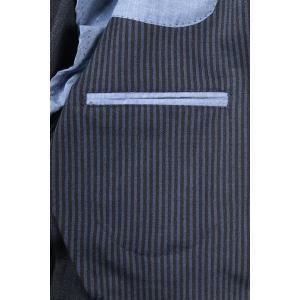 【54】 JOHN SHEEP ジョン・シープ ジャケット メンズ 秋冬 ストライプ ブルー 青 並行輸入品 アウター トップス 大きいサイズ utsubostock 12