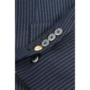 【54】 JOHN SHEEP ジョン・シープ ジャケット メンズ 秋冬 ストライプ ブルー 青 並行輸入品 アウター トップス 大きいサイズ utsubostock 05