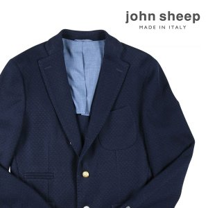【46】 JOHN SHEEP ジョン・シープ ジャケット メンズ ネイビー 紺 並行輸入品 アウター トップス|utsubostock