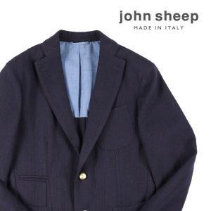 JOHN SHEEP(ジョン・シープ) ジャケット MJ1164867 ネイビー x レッド 52 18538nv 【A18542】|utsubostock