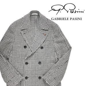 【50】 GABRIELE PASINI ガブリエレ・パジーニ ピーコート メンズ 秋冬 ホワイト 白 並行輸入品 アウター トップス|utsubostock