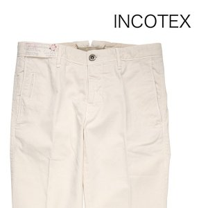 【30】 INCOTEX インコテックス パンツ 1ST619 メンズ 春夏 ホワイト 白 並行輸入品 ズボン|utsubostock