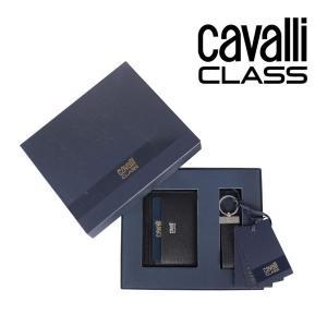 CAVALLI CLASS black ギフトセット メンズ ブラック 黒 レザー 並行輸入品|utsubostock