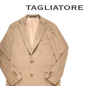 【48】 TAGLIATORE タリアトーレ チェスターコート 35UIC072 メンズ 秋冬 カシミヤ100% ベージュ 並行輸入品 アウター トップス|utsubostock