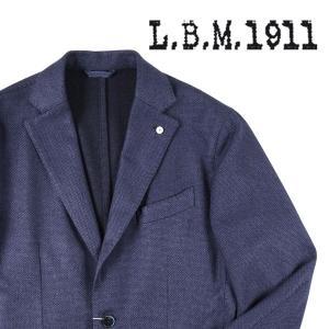【50】 L.B.M.1911 エルビーエム ジャケット 85054 メンズ 秋冬 カシミヤxシルク混 ネイビー 紺 並行輸入品 アウター トップス|utsubostock
