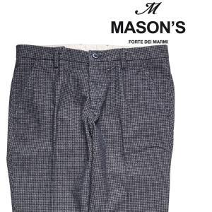 MASON'S(メイソンズ) パンツ MTE69S2 グレー x ブラック 48 18686 【W18686】|utsubostock