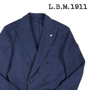 【50】 L.B.M.1911 エルビーエム ダブルジャケット 85097 メンズ ネイビー 紺 並行輸入品 アウター トップス|utsubostock