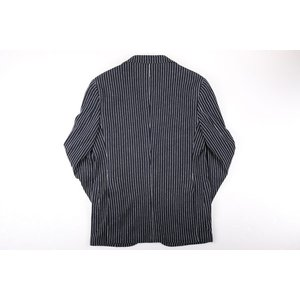 【48】 THE GIGI ザ ジジ ジャケット DEGAS2B メンズ 春夏 ストライプ ネイビー 紺 並行輸入品 アウター トップス|utsubostock|07