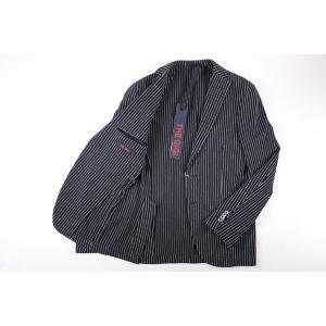 【48】 THE GIGI ザ ジジ ジャケット DEGAS2B メンズ 春夏 ストライプ ネイビー 紺 並行輸入品 アウター トップス|utsubostock|08