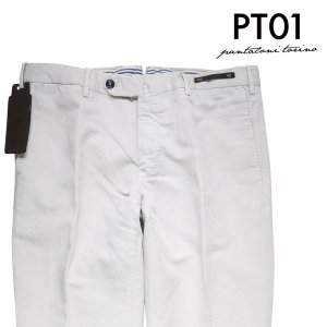 【52】 PT01 ピーティー ゼロウーノ パンツ PU15 メンズ 春夏 リネン混 ホワイト 白 並行輸入品 ズボン 大きいサイズ|utsubostock