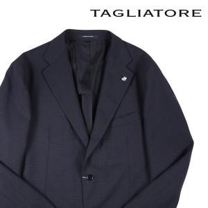 【56】 TAGLIATORE タリアトーレ ジャケット 1SVS22K メンズ 春夏 ヴァージンウール100% ネイビー 紺 並行輸入品 アウター トップス 大きいサイズ utsubostock