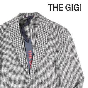 【48】 THE GIGI ザ ジジ ジャケット DEGAS2B メンズ 秋冬 千鳥 ホワイト 白 並行輸入品 アウター トップス|utsubostock