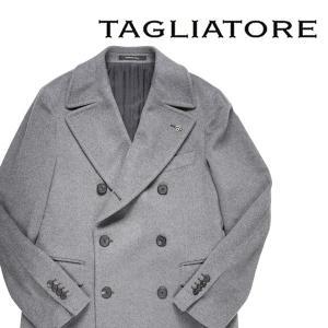 【54】 TAGLIATORE タリアトーレ コート CSBLM0B メンズ 秋冬 カシミヤ100% グレー 灰色 並行輸入品 アウター トップス 大きいサイズ utsubostock