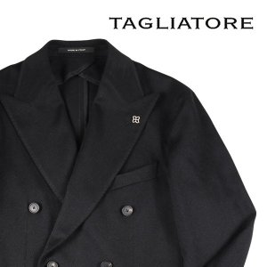 【48】 TAGLIATORE タリアトーレ ジャケット 1SMC20K メンズ 秋冬 キャメル100% ブラック 黒 並行輸入品 アウター トップス|utsubostock
