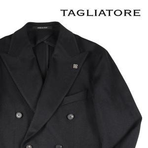 【54】 TAGLIATORE タリアトーレ ジャケット 1SMC20K メンズ 秋冬 キャメル100% ブラック 黒 並行輸入品 アウター トップス 大きいサイズ|utsubostock