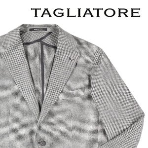 TAGLIATORE(タリアトーレ) ジャケット 1SMC22K ホワイト x ブラック 56 18824 【W18825】|utsubostock