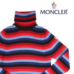 【L】 MONCLER GRENOBLE モンクレール グルノーブル タートルネックセーター メンズ 秋冬 ボーダー マルチカラー 並行輸入品 ニット|utsubostock