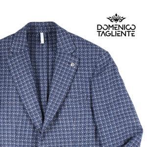 【52】 Domenico Tagliente ドメニコ・タリエンテ ジャケット メンズ 秋冬 ネイビー 紺 並行輸入品 アウター トップス 大きいサイズ|utsubostock