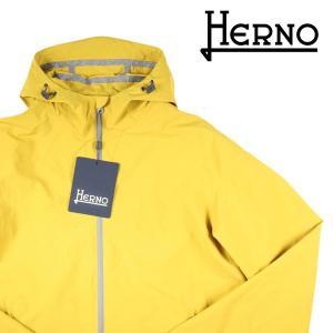 【50】 HERNO ヘルノ マウンテンパーカー GI0131U メンズ イエロー 黄 並行輸入品|utsubostock
