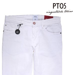 PT05(ピーティー ゼロチンクエ) カラーデニム DT05Z00COL ホワイト 31 18983 【A18984】|utsubostock
