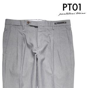 【48】 PT01 ピーティー ゼロウーノ スラックス MP21 メンズ 春夏 グレー 灰色 並行輸入品 ズボン utsubostock