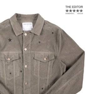 【48】 THE EDITOR ザエディター ブルゾン メンズ カーキ 並行輸入品 アウター トップス|utsubostock