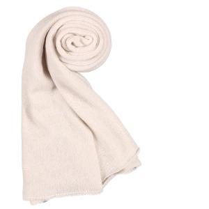 SPADALONGA スパダロンガ マフラー メンズ 秋冬 カシミヤ100% ホワイト 白 並行輸入品|utsubostock