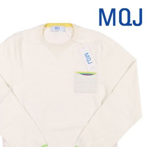MQJ(エムキュージェイ) 丸首セーター P19-MQJ1105 ホワイト M 19128wh 【A19133】|utsubostock