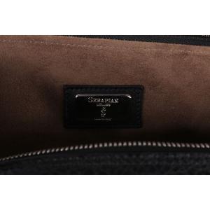 SERAPIAN セラピアン ブリーフケース メンズ ブラック 黒 レザー 並行輸入品|utsubostock|12