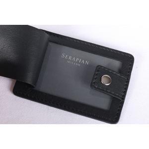 SERAPIAN セラピアン ブリーフケース メンズ ブラック 黒 レザー 並行輸入品|utsubostock|15