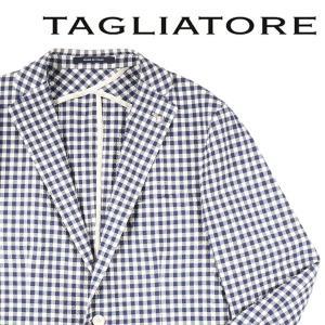 【50】 TAGLIATORE タリアトーレ ジャケット 1SGG22K メンズ 春夏 チェック ブルー 青 並行輸入品 アウター トップス utsubostock