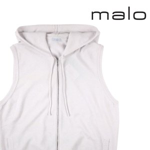 【54】 malo マーロ ベスト メンズ カシミヤ100% ホワイト 白 並行輸入品 大きいサイズ|utsubostock