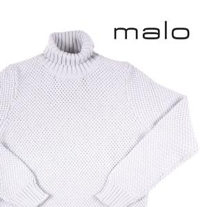 【54】 malo マーロ タートルネックセーター メンズ 秋冬 カシミヤ100% グレー 灰色 並行輸入品 ニット 大きいサイズ|utsubostock