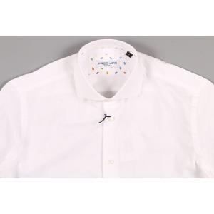 【XXL】 FREEMAN SARTORIA フリーマンサルトリア 長袖シャツ メンズ ホワイト 白 並行輸入品 カジュアルシャツ 大きいサイズ|utsubostock|03