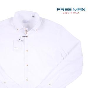 【S】 FREEMAN SARTORIA フリーマンサルトリア 長袖シャツ メンズ 春夏 ホワイト 白 並行輸入品 カジュアルシャツ|utsubostock