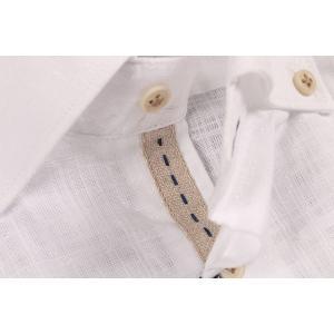 【XL】 FREEMAN SARTORIA フリーマンサルトリア 長袖シャツ メンズ 春夏 ホワイト 白 並行輸入品 カジュアルシャツ|utsubostock|04