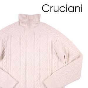 【50】 CRUCIANI クルチアーニ タートルネックセーター メンズ 秋冬 カシミヤ100% ホワイト 白 並行輸入品 ニット|utsubostock